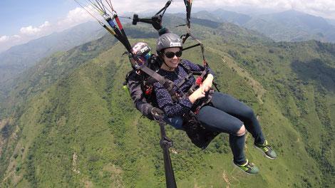 Paragliding Roldanillo Kolumbien buchen