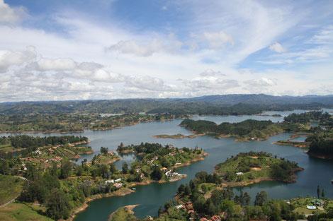 Guatapé Seenlandschaft Tour individuell Anfrage