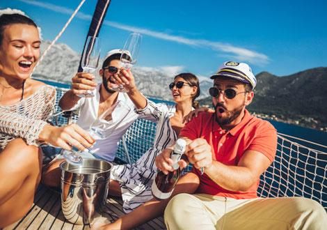 Mitsegeln Erwachsene Alleinreisende Sardinien