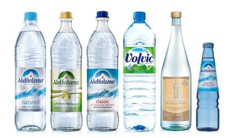 Mineralwasser Lieferung