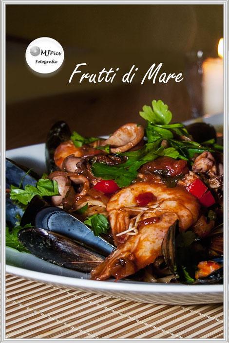 Rezept für Frutti di Mare-Meerefrüchte