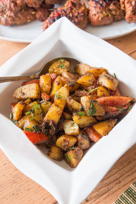 Würzige Bombaykartoffeln-Rezept