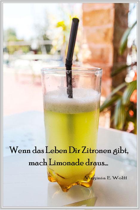 Rezept für Zitronenlimonade-Lemonjuice © Jutta M. Jenning