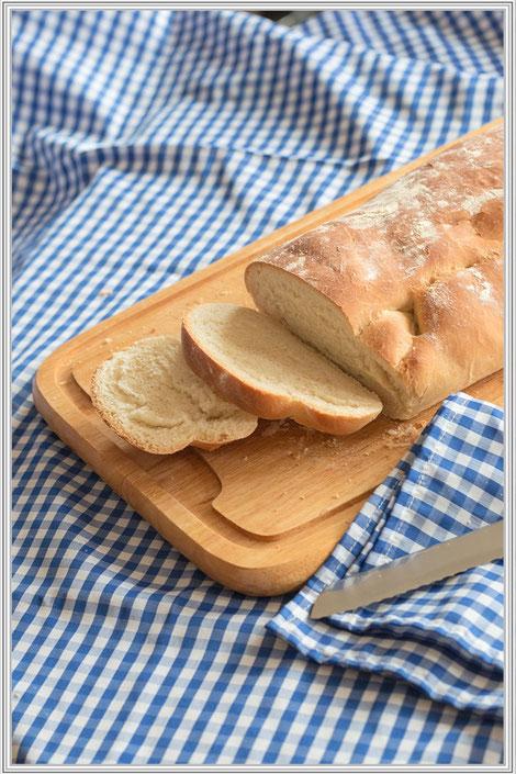 Rezept für Ciabatta - Italienisches Weißbrot