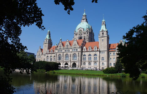 Hannover neues Rathaus