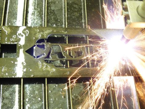 CNC Plasma Cutting - cagedcustoms