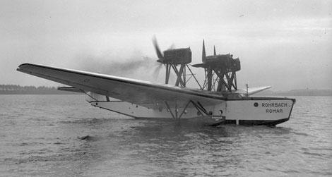 Flugboot Rohrbach Romar, Quelle: Bundesarchiv