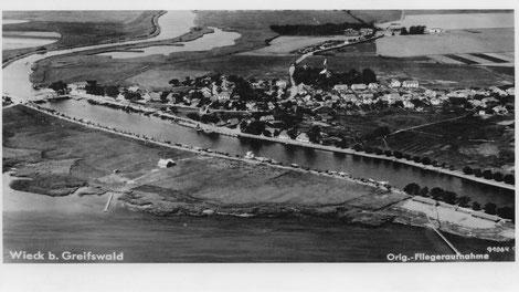 Luftbild von 1929, © Christian Radicke
