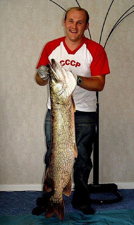 003. Щука-122 см-14 кг