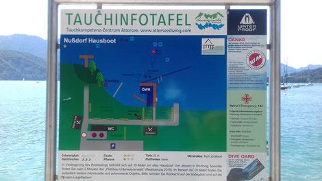 Tauchplatz Attersee| Nicole Müller