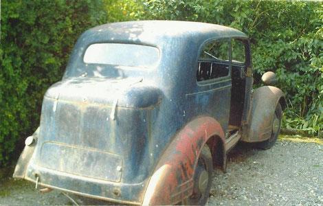 Frack vom Opel 1397 Lz von 1934