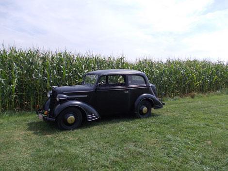 Auf´m Feld mir Opel Vorkrieg Modell 1397 Lz