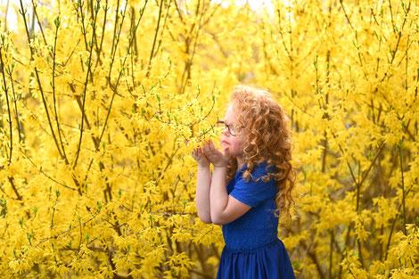 kidsshoot gele bloemen