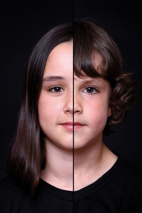 2 faces 1 portret hellevoetsluis
