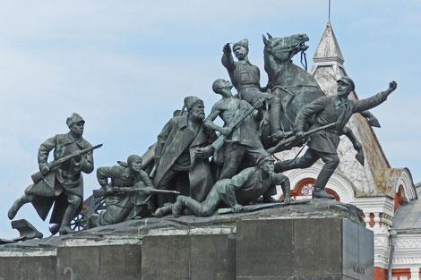 Samara Denkmal Tschapajew