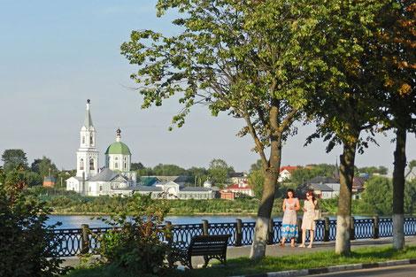 Twer Wolga Promenade