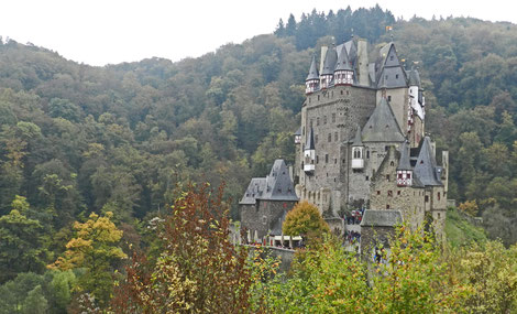 Замок Эльтц Германия