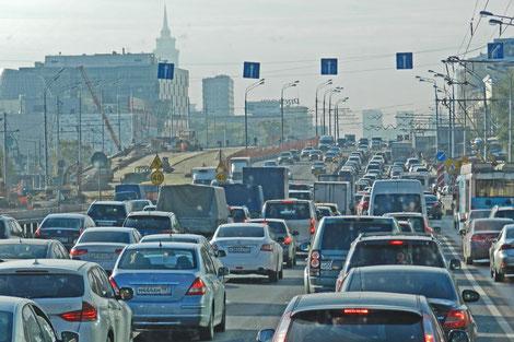 Leningrader Chaussee in Moskau