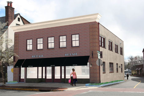 Proposed rendering - photographs coming soon.