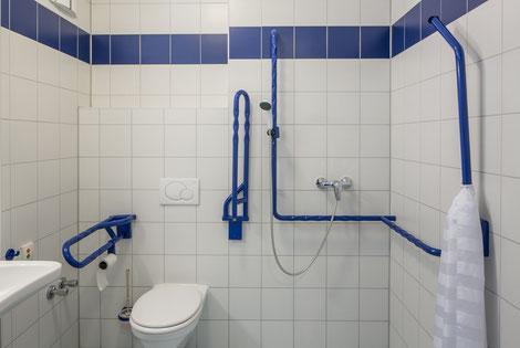 Barrierefreies Badezimmer Bad WC Dusche