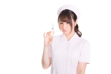 頸椎ヘルニアでブロック注射を打つ奈良県香芝市の女性