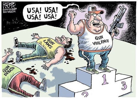 """""""Gun Violence"""", by Rogers"""