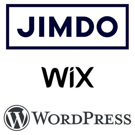 jimdo・wix・wordpress