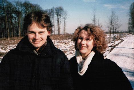 Gregor & Judith im Februar 1986