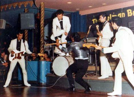 The Tielman Brothers - showtime at Palais de Danse, Scheveningen, Summer 1965