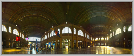 Hauptbahnhof Zürich; Hans Jutzi; Panormaphotografie; PTGui; Bildershop