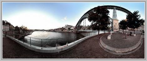 Porto 3, Portugal; Hans Jutzi; Panormaphotografie; PTGui; Bildershop