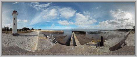 Le Palais, Belle Île, Bretagne; Hans Jutzi; Panormaphotografie; PTGui; Bildershop