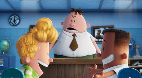 captain underpants the first epic movie dreamworks