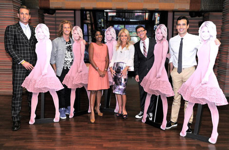 kelly ripa live with kelly tv cohost search markette sheppard contestants