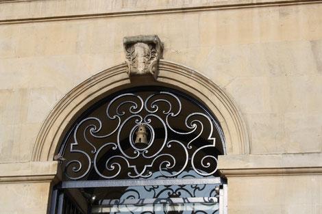 Abbaye aux hommes Caen, Frankreichreisen