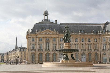 Börse in Bordeaux, Städte in Frankreich, Gruppenreise, Frankreichreise, Aquitanien