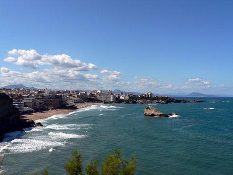Frankreich, französische Atlantikküste, schönes Frankreich, Baskenland, mondäne Badeorte,