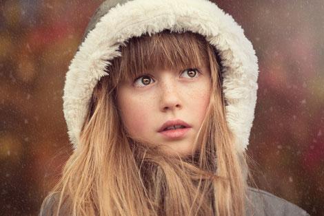 Stirnfransen Winter