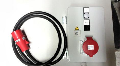 Sonderanschluss für Brüh- und Enthaarungsmaschine