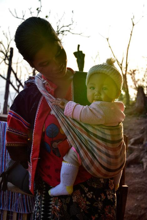 Reise Baby Mutter Fotograf Martin Matok Thailand Chiang Mai