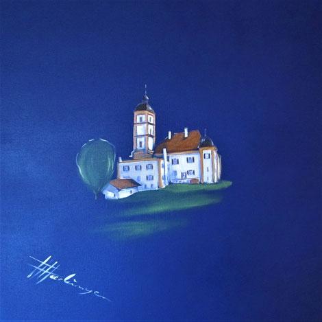 """""""Kleine Messergasse Passau""""    Acryl  40x40"""
