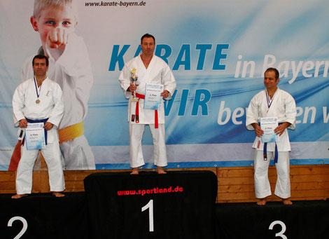 Andrei: Bayerischer Meister im Kumite der Masterklasse!!