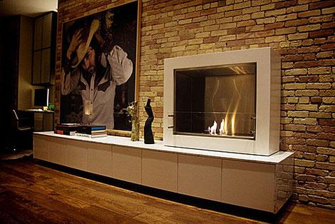 バイオエタノール暖炉