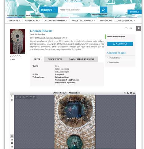 Lecture à voix haute numérique et exposition interactive en médiathèque