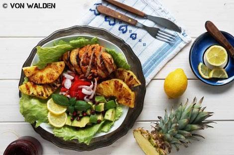 Tropischer Sommersalat Von Walden