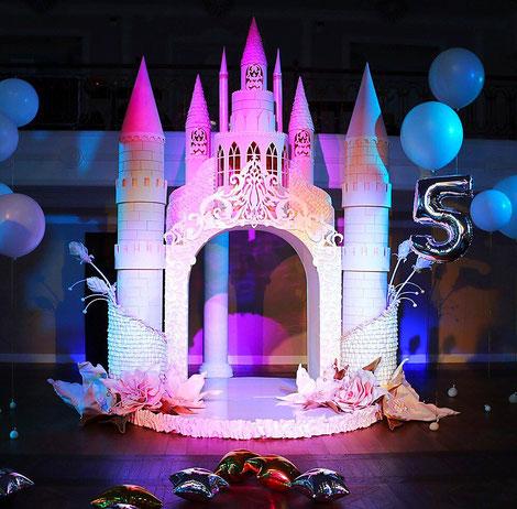 Праздничные декорации на детский праздник и день рождения ребенка.