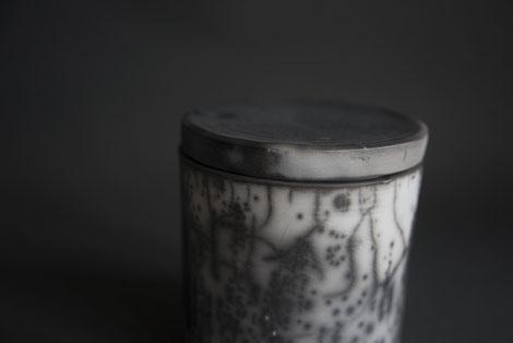 naked raku stoneware pottery ceramics handmade polished