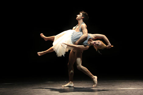 Paula Pérez, titulada en danza contemporánea