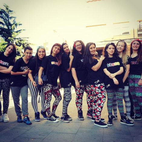 Grupo de Danzas Urbanas Jóvenes