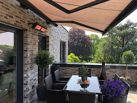 Infrarot Heizungen für Garten, Balkon und Terrasse